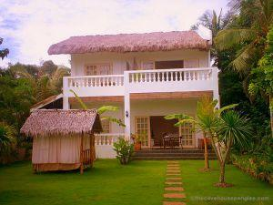 Panglao island, bohol, resort – the cove house – bed and breakfast