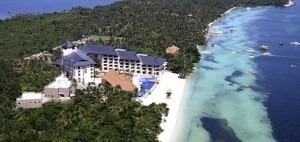 The Bellevue Beach Resort arial