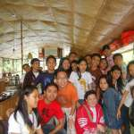 Floating restaurant loboc riverwatch bohol happy guests4