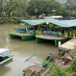 Floating restaurant loboc riverwatch bohol11