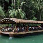 Loboc riverwatch floating restaurant loboc river bohol philippines 070