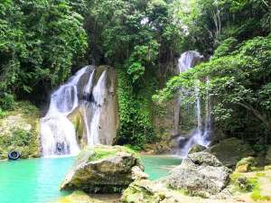 Pahangog twin falls dimiao bohol philippines adventure bohol 0002