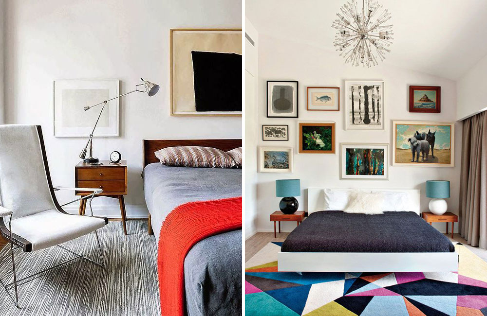 MID CENTURY MODERN BEDROOM INSPIRATION Lobster And Swan