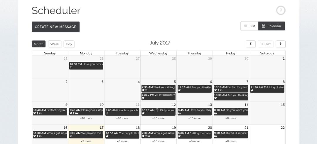 Scheduler (2)