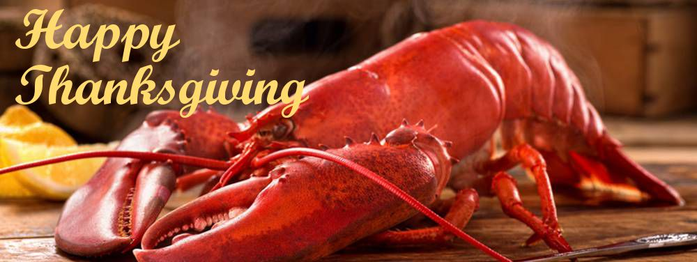 Happy Maine Lobster Thanksgiving