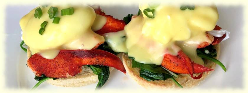 Mothers Day Lobster Benedict Recipe