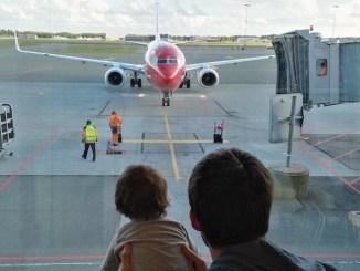 volar en avion con bebes