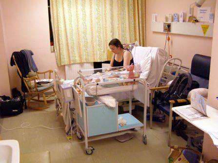 cesarea mama despues
