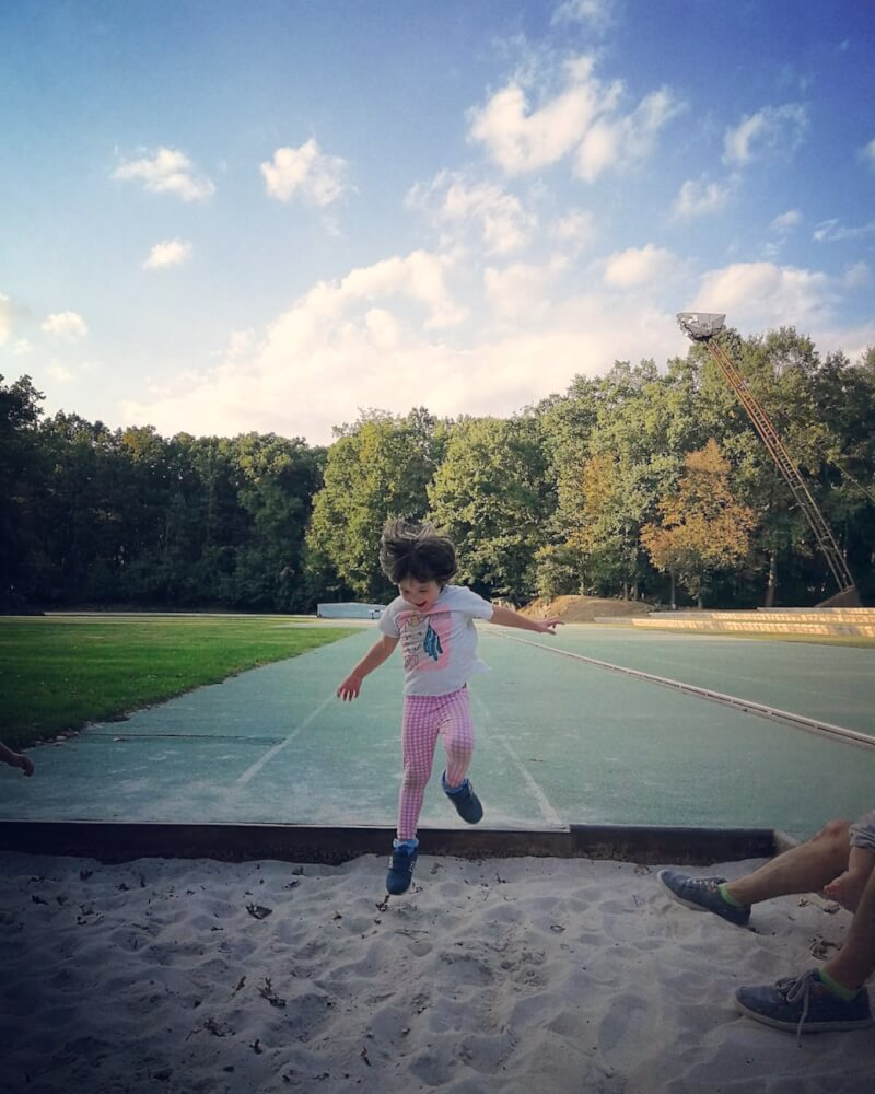 olot amb nens atletisme