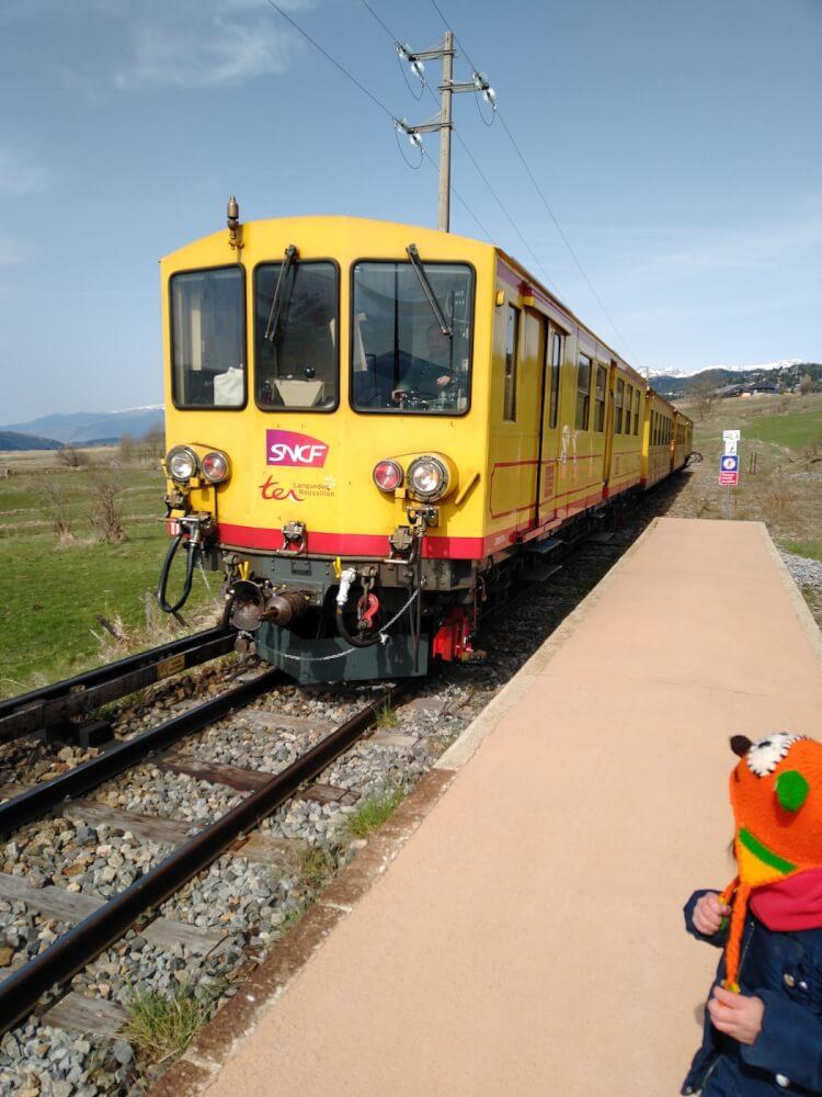 tren groc train jaune 2