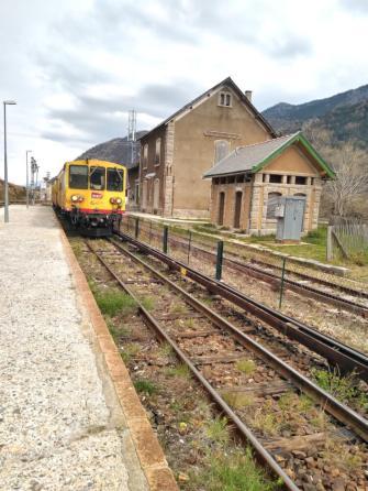 tren groc train jaune fontperouse