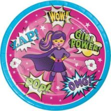platos-superhero-nina-23-cm