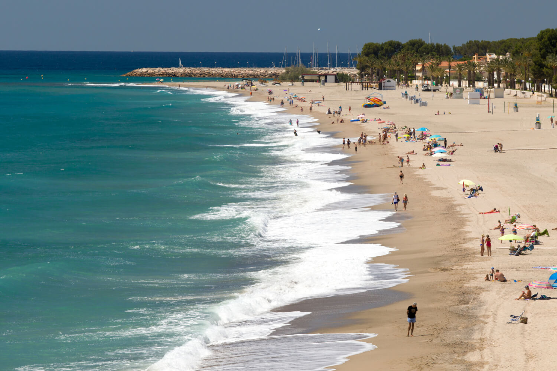 Montroig, Baix Camp, Playa Cristall