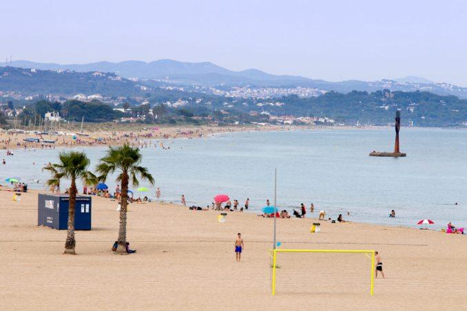 costa daurada playa torredembarra