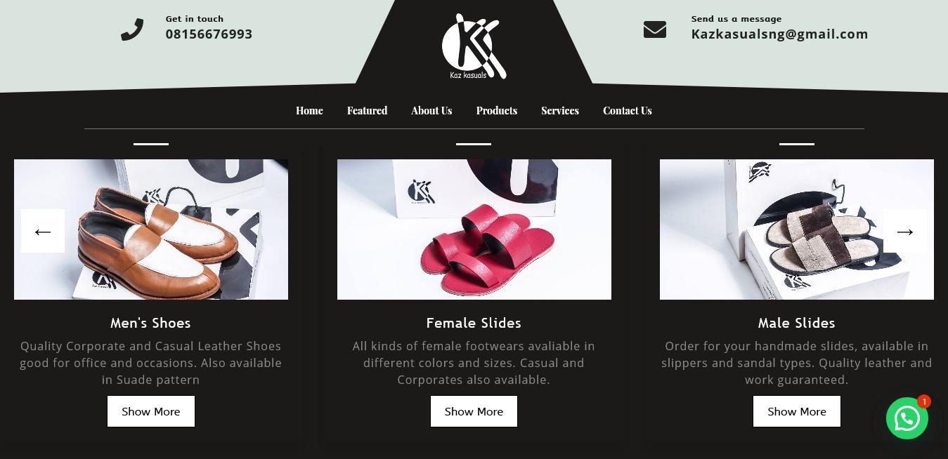 Kaz Kasuals – Unique Bespoke footwears