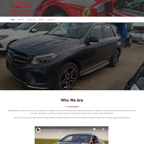 Rawlings Auto Sales