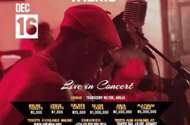Wizkid Live In Abuja [Musical Concert]
