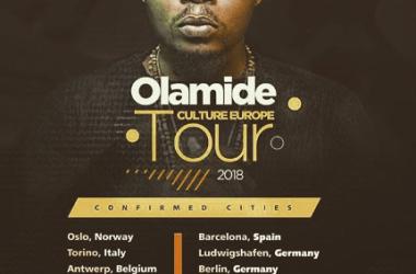 Olamide Set To Tour Europe 2018 #CultureEuropeTour