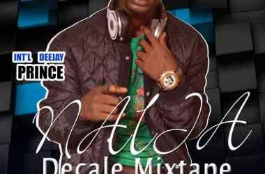 Int'l DJ Prince - Naija Decale Mixtape