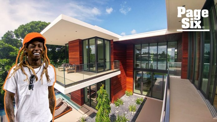 Inside Lil Wayne's New $17Million Miami Beach Mansion