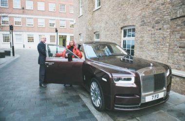 DJ Cuppy Receives Her New Customized Rolls Royce