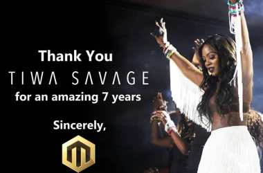 Tiwa Savage Leaves Mavin Records After 7years Contract