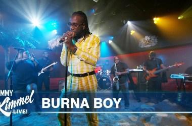 Burna Boy – Anybody (Jimmy Kimmel Live Performance)