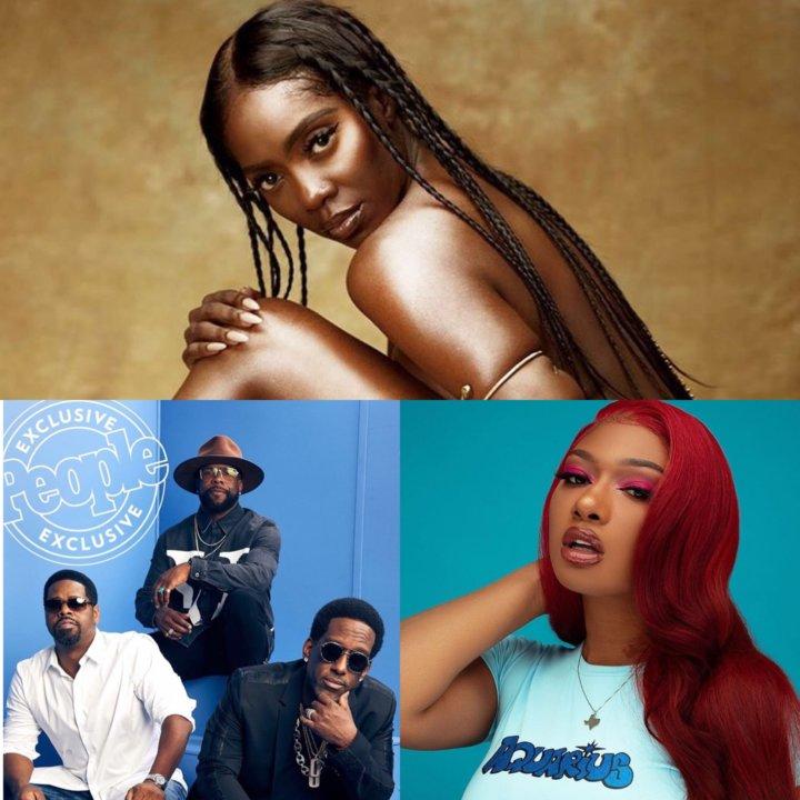 Tiwa Savage, Megan Thee Stallion, Boyz II Men Headline Festival in Lagos