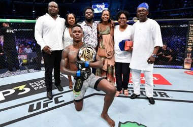 Israel Adesanya Won UFC Middleweight Belt
