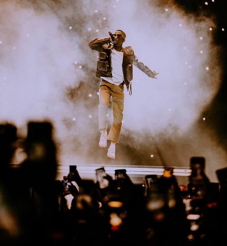 Wizkid at O2 Arena, London