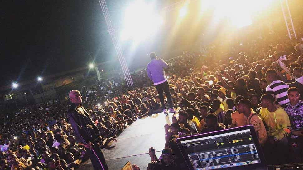 Chinko Ekun Freestyle At Omo Better Concert 2