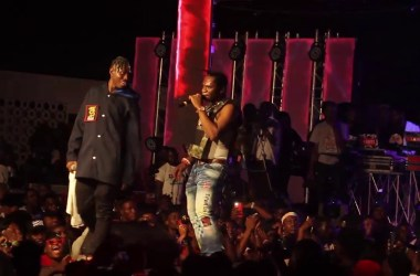 Speed Darlington's Storms Zlatan's Concert