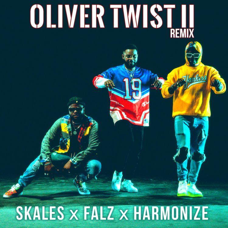 Skales x Falz x Harmonize – Oliver Twist II (Remix)