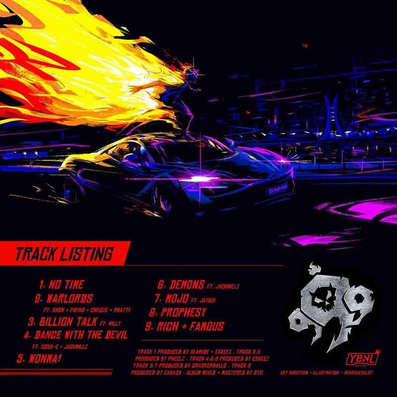 Olamide - 999 EP-tracklist