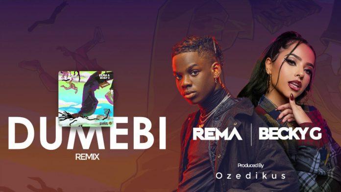 Rema & Becky G – Dumebi