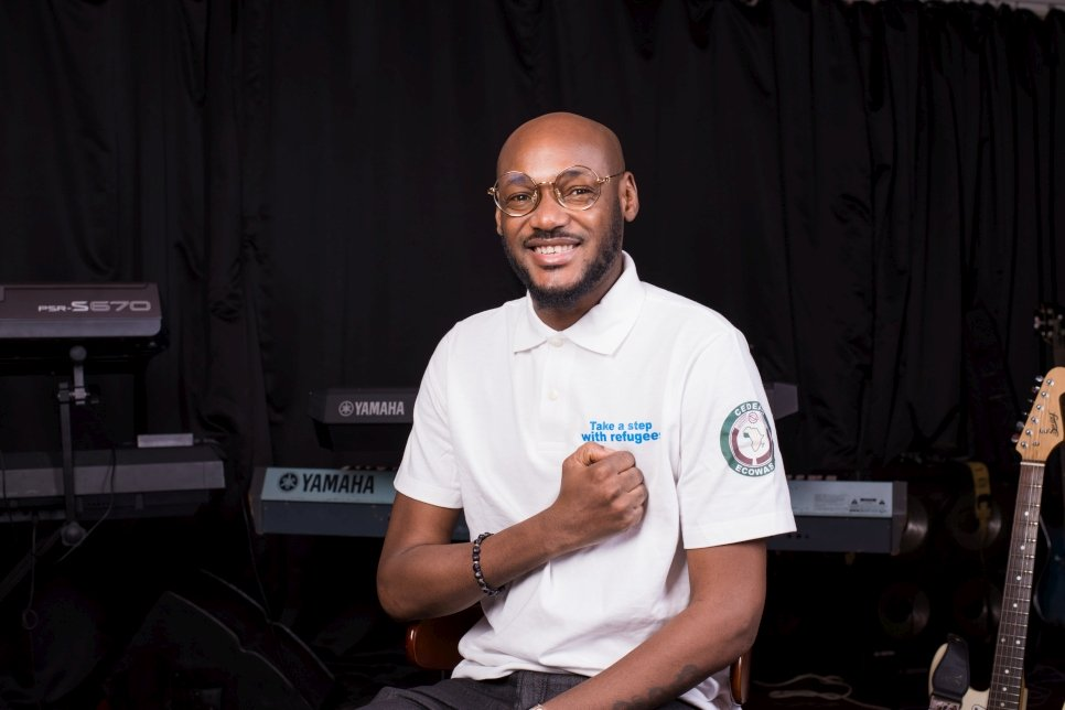 2Baba Appointed As New UNHCR Goodwill Ambassador