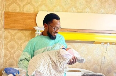 D'Banj Welcomes Second Child With His Wife