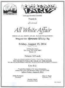All White Affair 2014