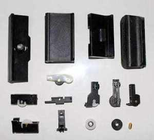 Window fittings and rollers