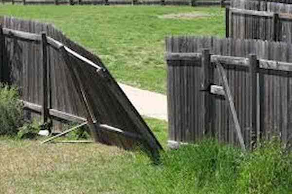 Broken Fence repairs
