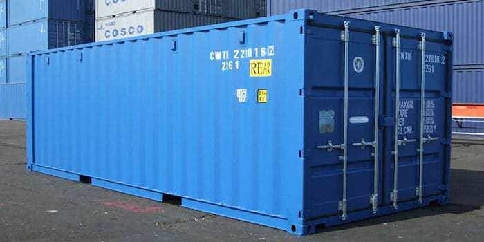 The container for the thing contained
