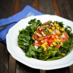 All Hail Kale Salad Recipe from Veggie Grill