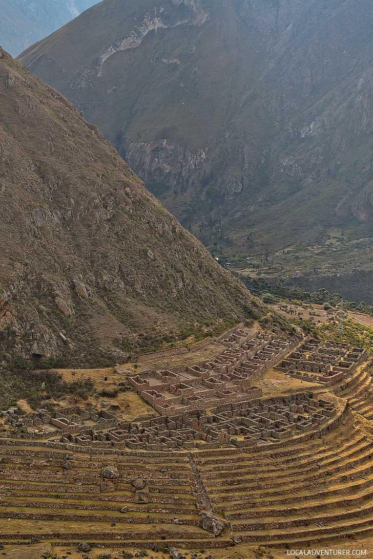 Llaqtapata Inca Ruins on the Inca Trail (How to Hike to Machu Picchu / 4-day Inca Trail Hike) // localadventurer.com