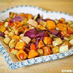 Holiday Roasted Veggies Recipe | Foodie Fridays