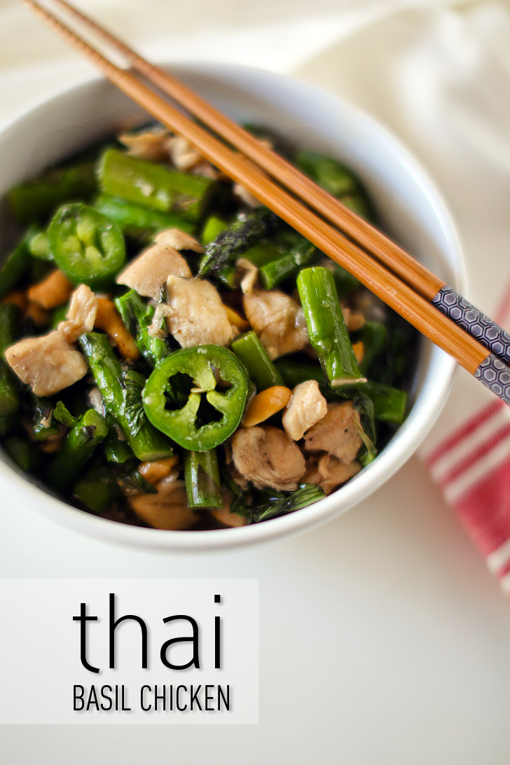 Thai Basil Chicken Recipe | Easy Thai Recipes.