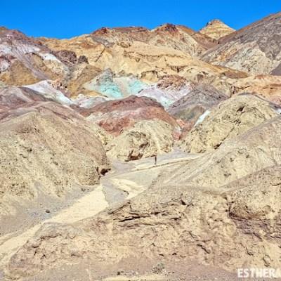 DeathValley: Artist's Palette, Photo of Death Valley