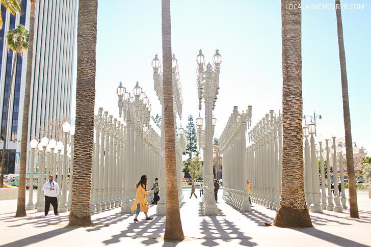 Urban Light LACMA / LA County Museum of Art.