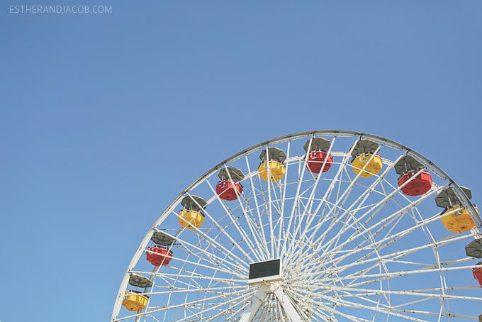 Santa Monica Pier. things to do in santa monica. santa monica pier pictures. santa monica pier ferris wheel. things to do in LA. free things to do in la.
