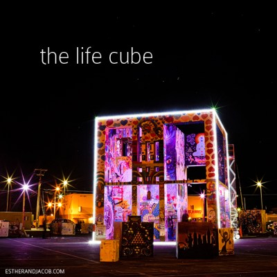 The Life Cube Project from Burning Man in DTLV | Downtown Project Las Vegas.
