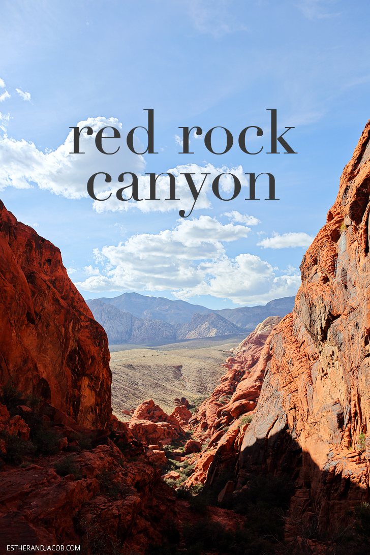 The top of Guardian Angel Pass or the Saddle | Red Rock Canyon Hiking | Red Springs Loop or Calico Loop.